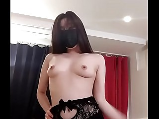 Beautiful Korean BJ Dance Strip Show Nude On Cam !
