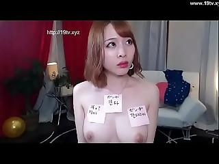 korean girl in alone