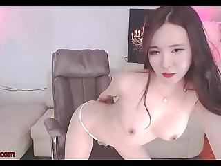 Korean beautiful camgirl in sexy lingerie