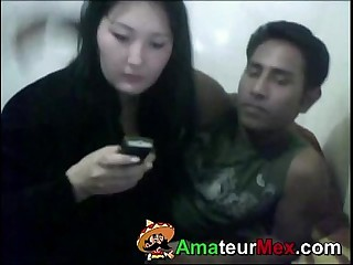 Mexican Guy and Korean Wife - amateurmex.com