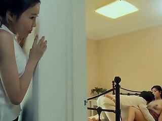 Fiery Love Korean Movie Sex Scene #1