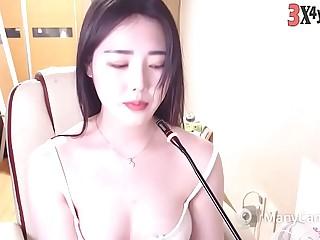 Very pretty girl korean BJ live stream 040919