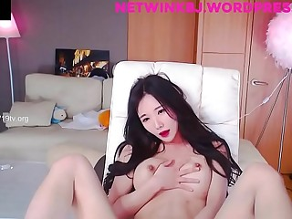 Korean BJ Neat fingering in leopard panties